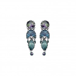 Boucles ayala bar R1032 blue planet