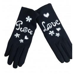 Gants  Peace and Love Quand les poules auront des gants