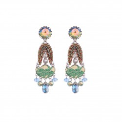 Boucles ayala bar H1348 Fieta Green
