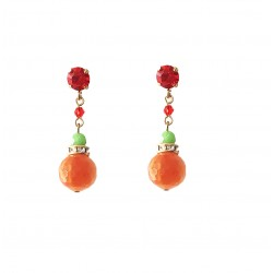Boucles POGGI PER6  Orange