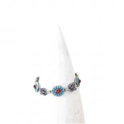 Bracelet Poggi LUM 106 turquoise rose