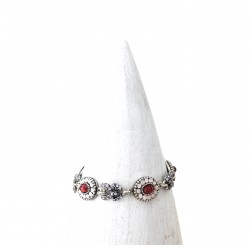 Bracelet Poggi LUM 106 argent rose
