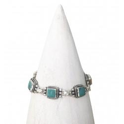 Bracelet  turquoise argent