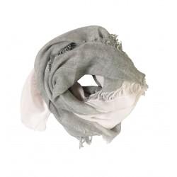 echarpe blui rose gris