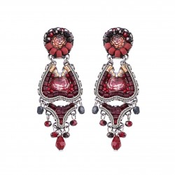Boucles ayala bar C1426 ruby love